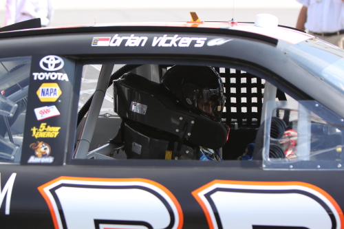 Brian Vickers run both road course races for MWR in 2012 (Photo by Barry Albert / SM)