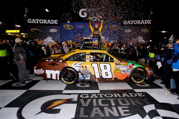 2012 Richmond April NASCAR Sprint Cup Kyle Busch Victory Lane Horizontal
