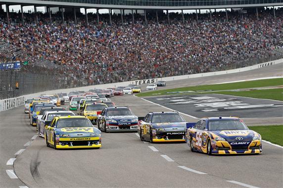 Racing Action at Texas