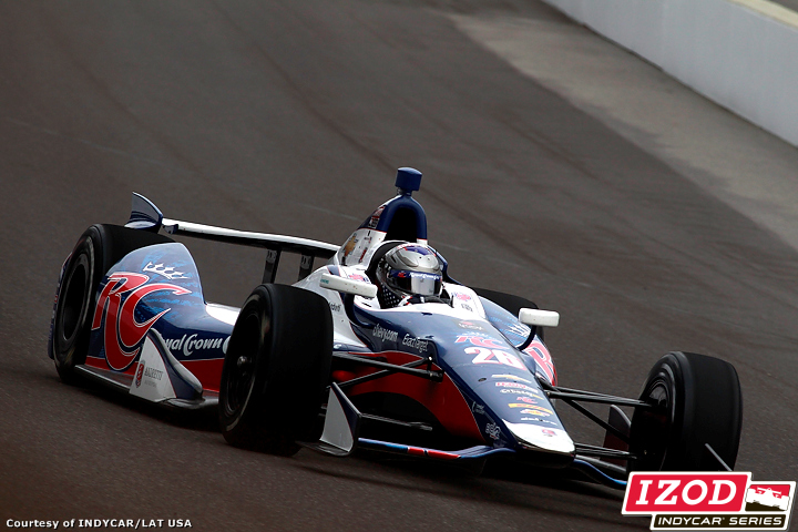 2012 IndyCar Open Testing Indy 500