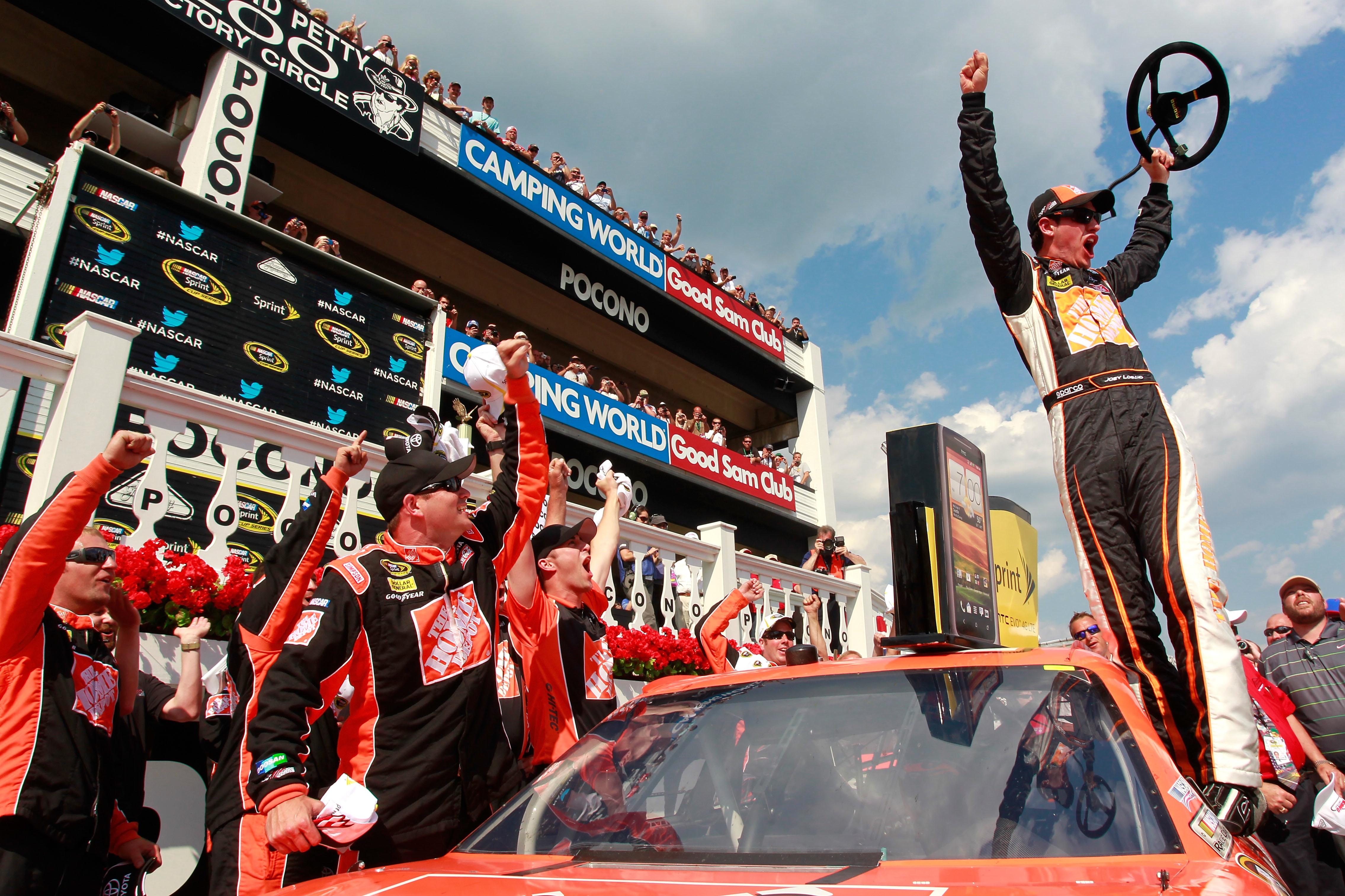 Credit: Geoff Burke/Getty Images for NASCAR