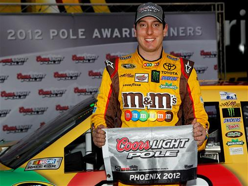 2012 Phoenix2 Kyle Busch Coors Light Pole Award
