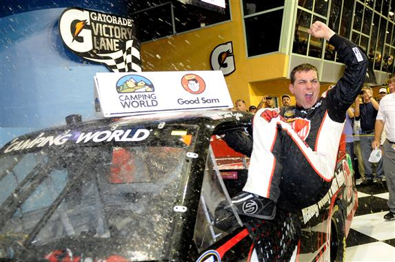 CaleGale_Homestead_NCWTS_John HarrelsonGetty Images for NASCAR