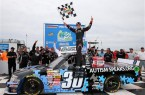 ncwts_carolina_200_rockingham_pole_kyle_larson_win_victory_lane_041413