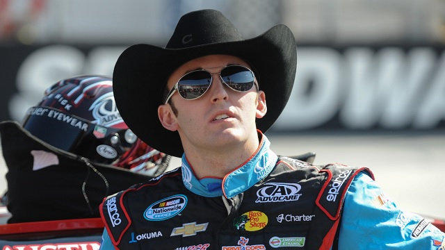 Austin-Dillon-has-to-Fight-NASCAR-Cup-Veterans-at-Chicagoland-Speedway