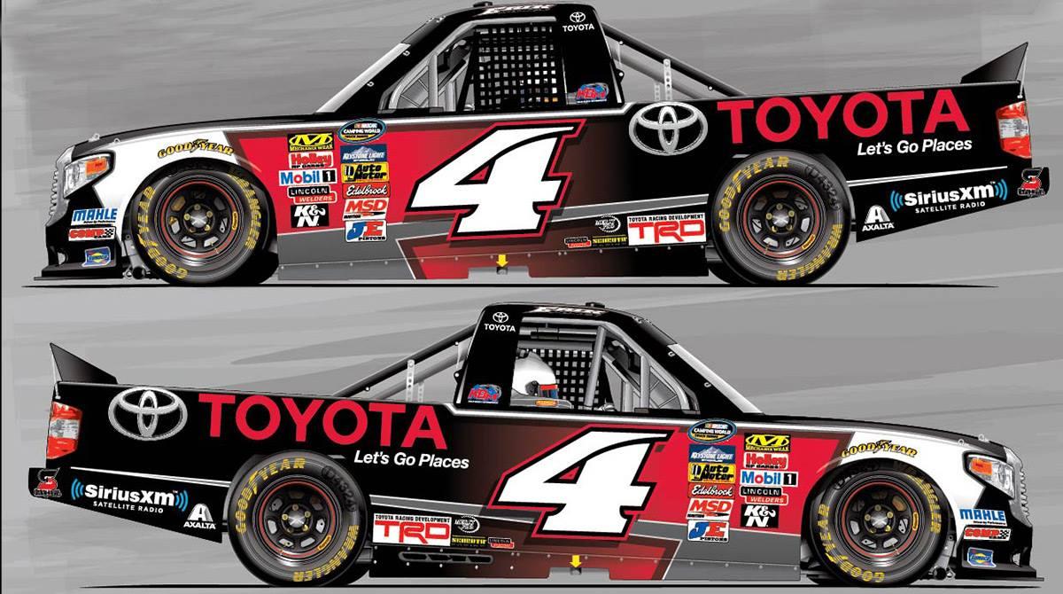 Kyle Busch Motorsports >> NCWTS: Kyle Busch Motorsports unveils Erik Jones' truck scheme