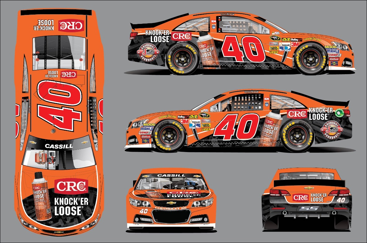 NSCS: CRC INDUSTRIES TO DEBUT KNOCK'ER LOOSE® SCHEME AT TEXAS MOTOR