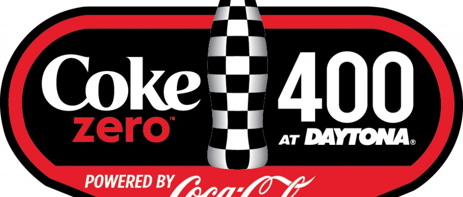 Coke Zero 400 full color on white bkg logo