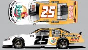 The-Layout-of-the-No.-25-Florida-Lottery-Toyota-Camry-for-Tom-Hessert-III-in-the-ARCA-Racing-Series-presented-by-Menards