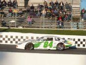 Sean Cronan at the start of the 2014 Sunset Speedway Season / (C)Ashley McCubbin