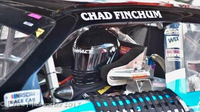 Finchum excited to be part of NASCAR Xfinity Series 'Championship