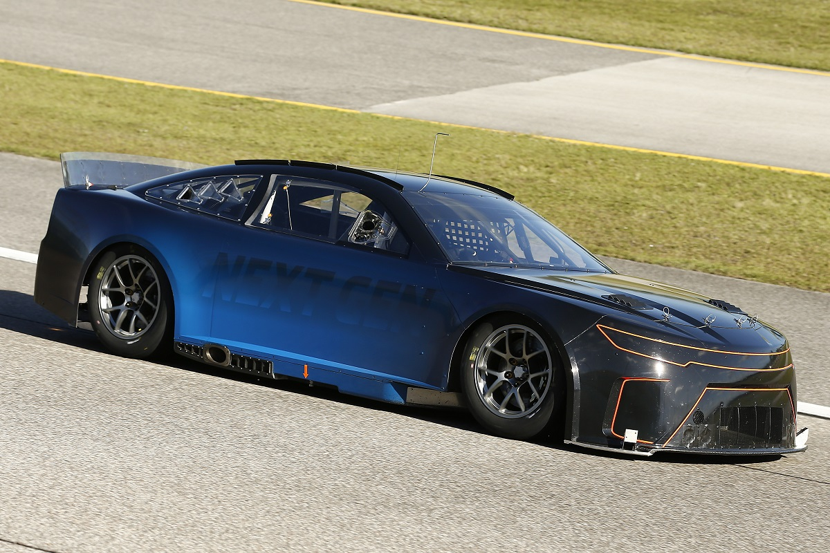 NASCAR tests Next Gen Cup car at Homestead Miami Speedway
