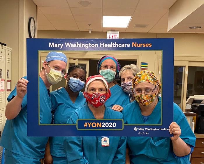 Caregility Honors Nurses from Mary Washington Healthcare