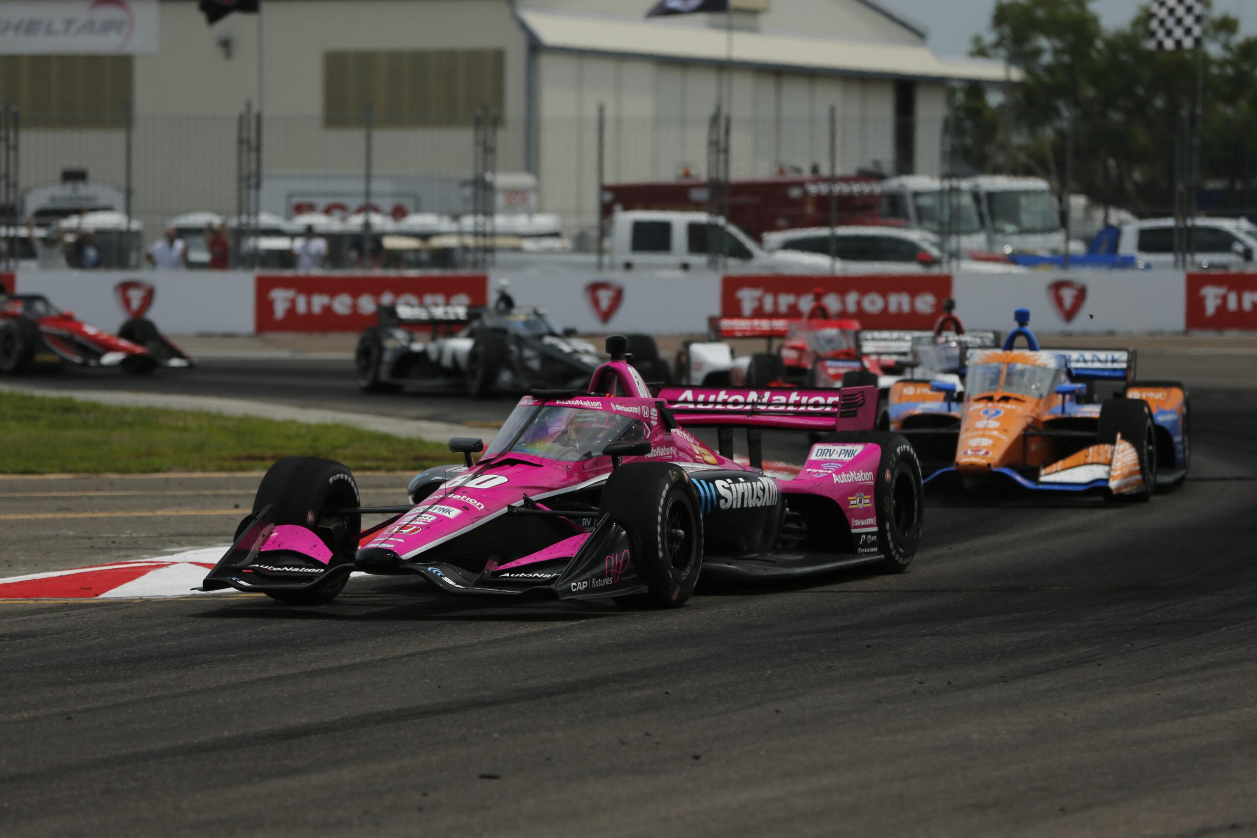 Harvey and Meyer Shank Racing in St Petersburg