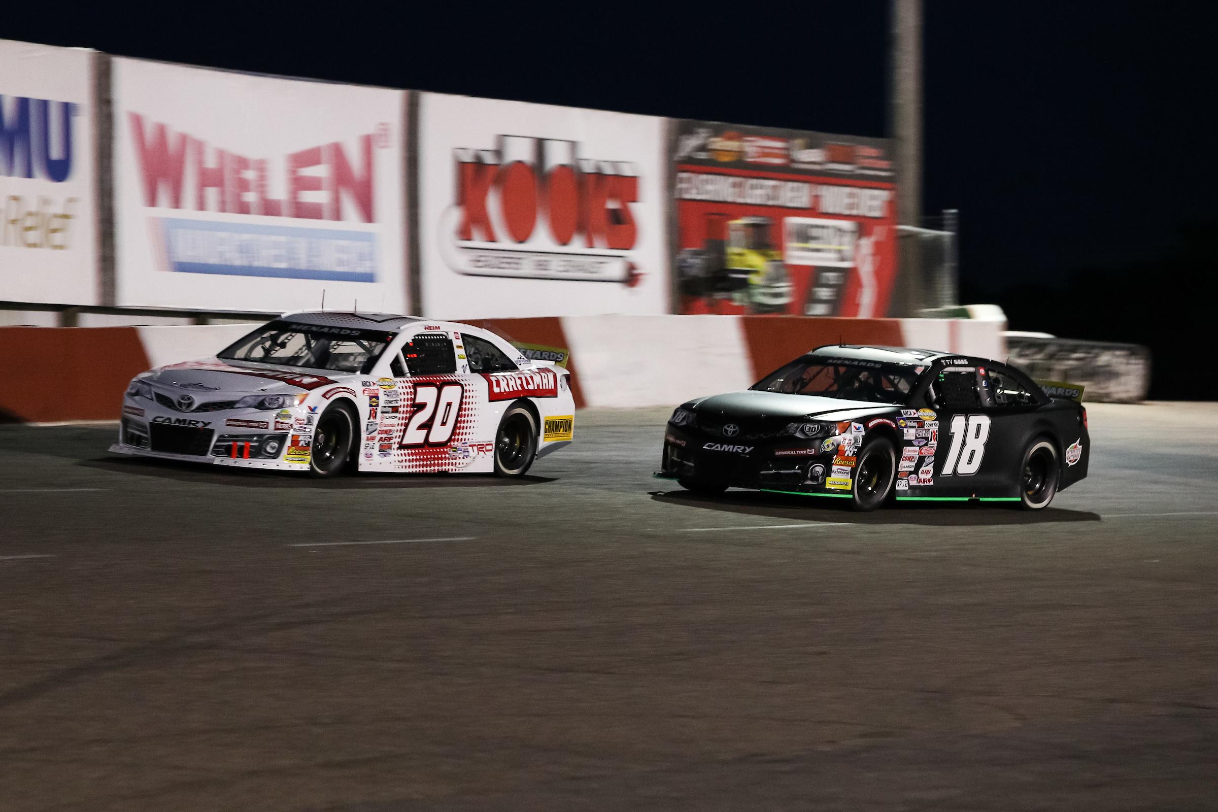 Menards 250 for the ARCA Menards Series at Elko Speedway